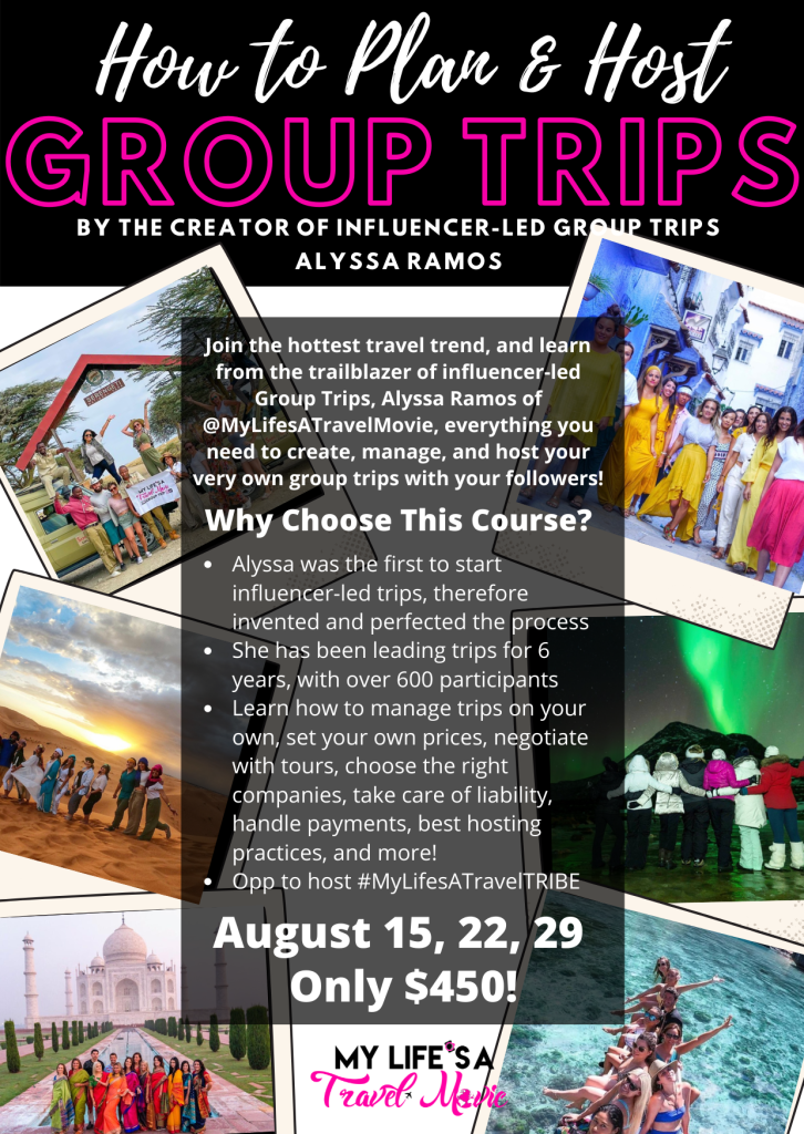 COURSE: How to Plan and Host Group Trips