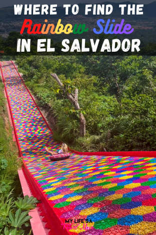 Everything you need to know about where to find the Rainbow Slide in El Salvador, and how to plan a trip there! Plus crucial safety updates, and information on the most fabulous hotels and BnBs to stay at in El Salvador!