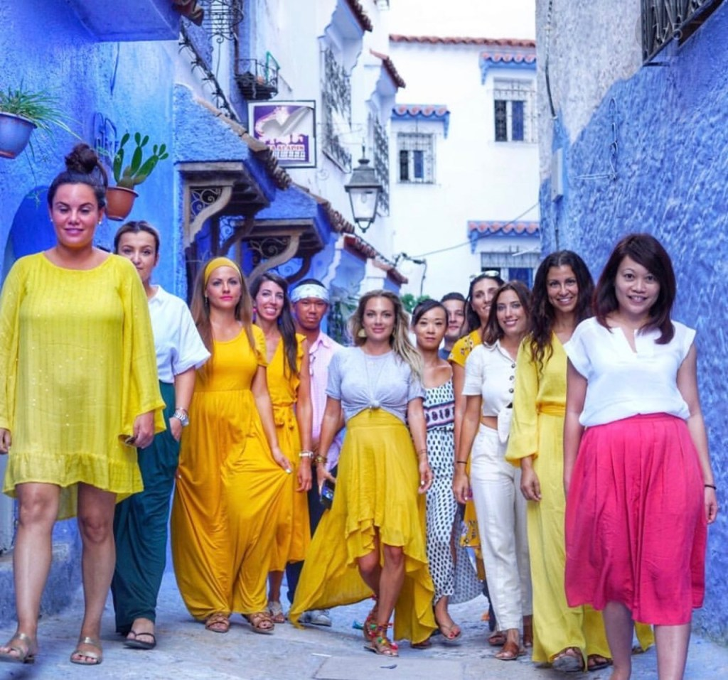 influencer-hosted group trips
